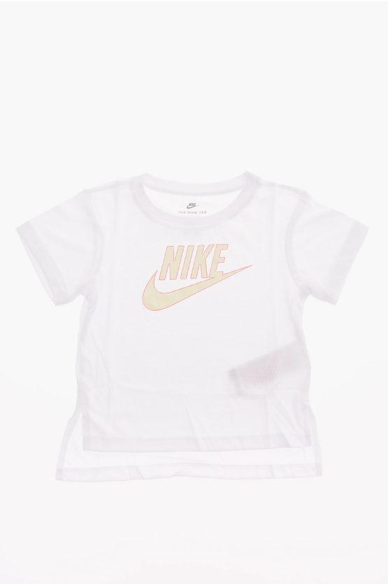 Nike Logo-Print t-shirt size 6-7 A
