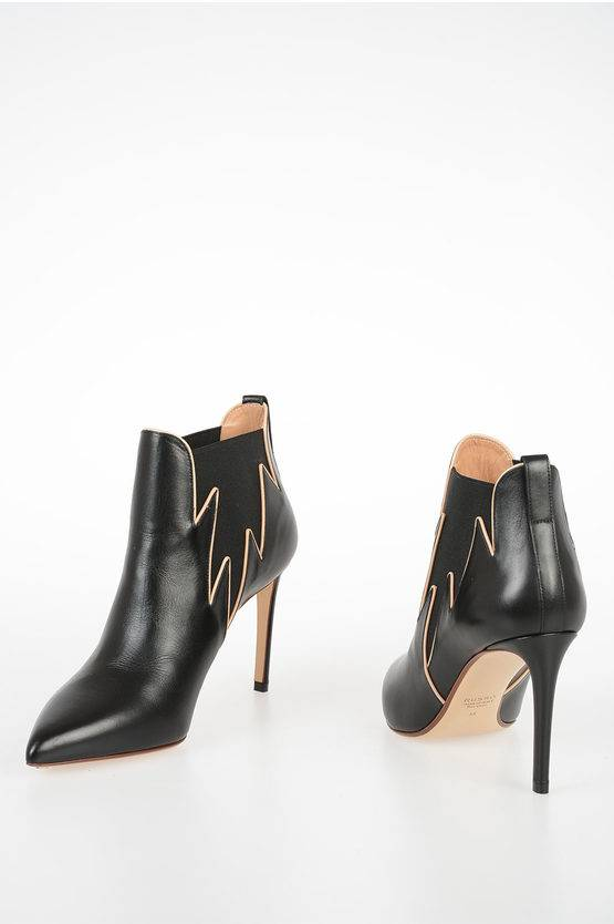 francesco russo 9 5cm leather ankle boots size