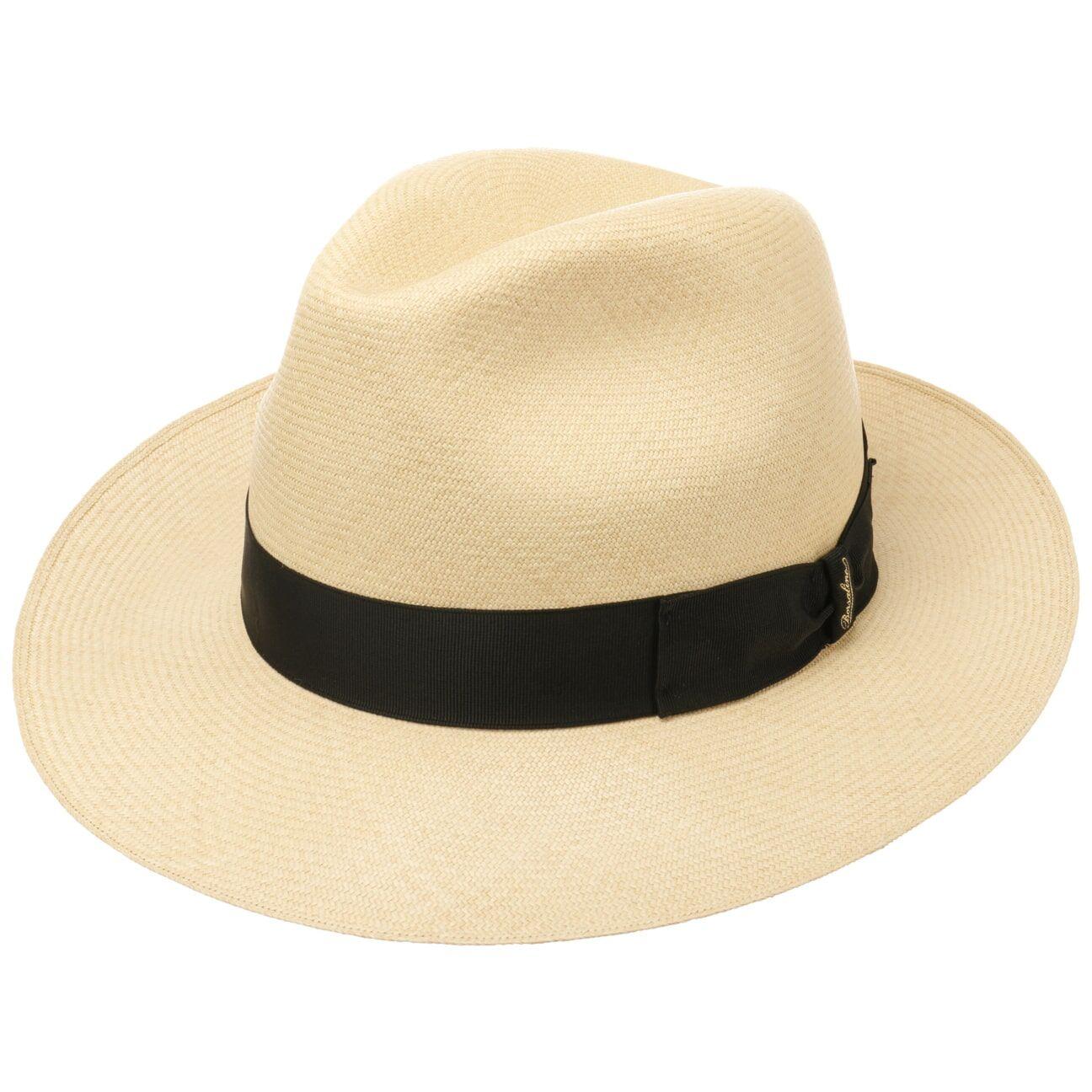Borsalino Panama Bogart Hat Premium by Borsalino Col.  nature, size 57 cm