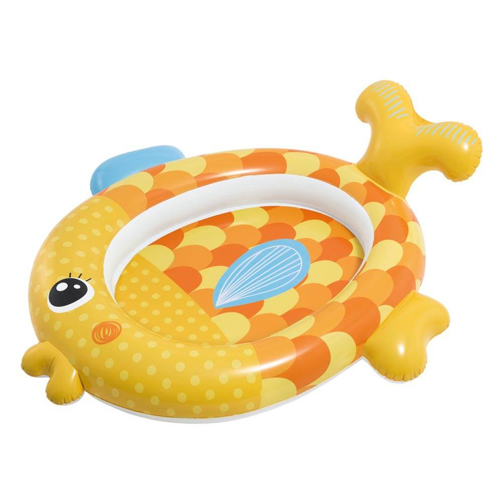 Intex Inflatable Fish Pool 36 Liters Gold  - Size: 36 Liters