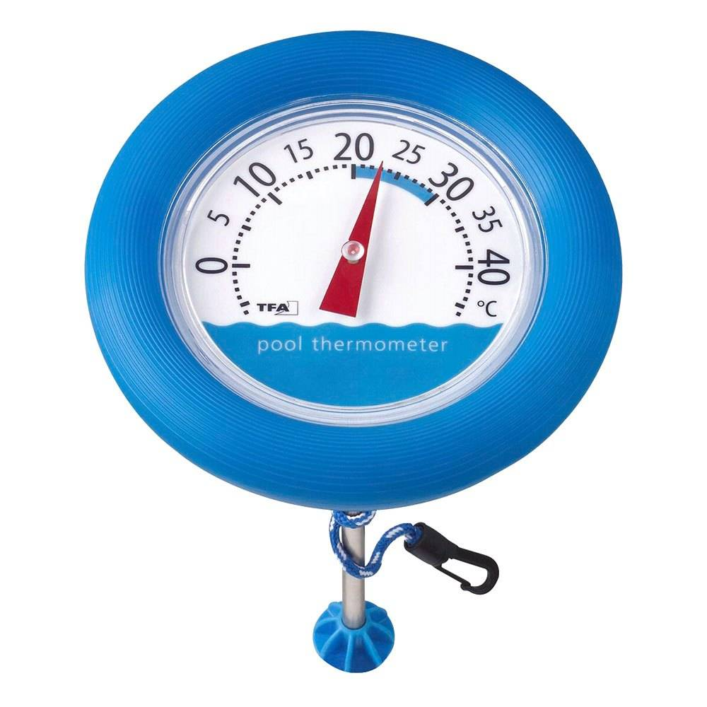 Tfa Dostmann 40.2007 Poolwatch Thermometer One Size Blue / White  - Unisex - Size: One Size