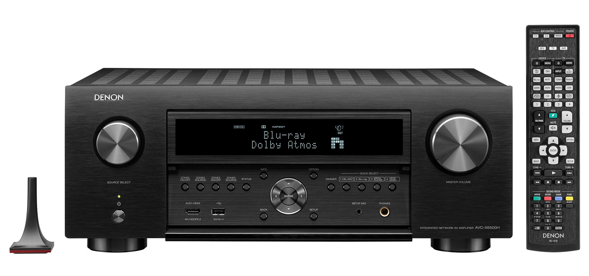 denon avcx6500hbke2gb premium 11 2 channel av surround