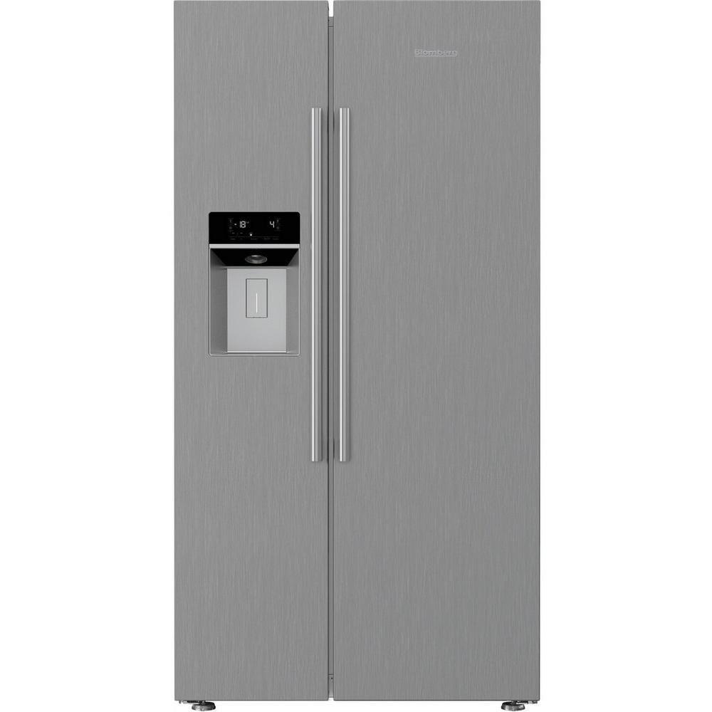 blomberg kwd253px non plumbed water ice american fridge