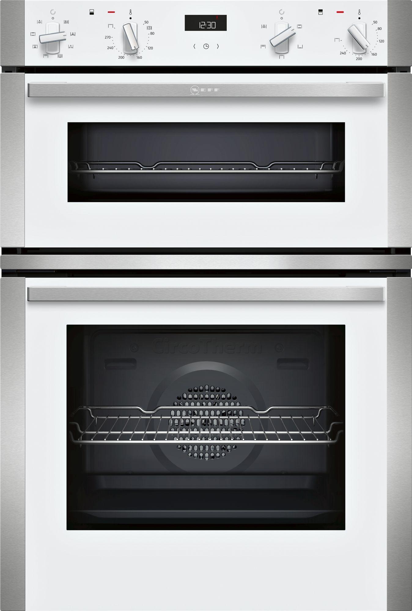 neff u1ace2hw0b n50 circotherm built double oven