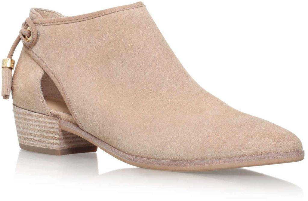 michael kors michael suede leather avery ankle boots