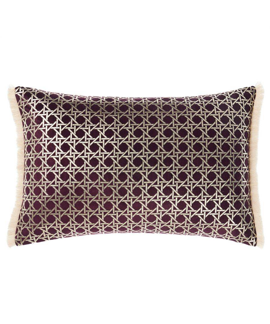Linen House Taira Poly Cushion  - Multicolour - Size: One Size