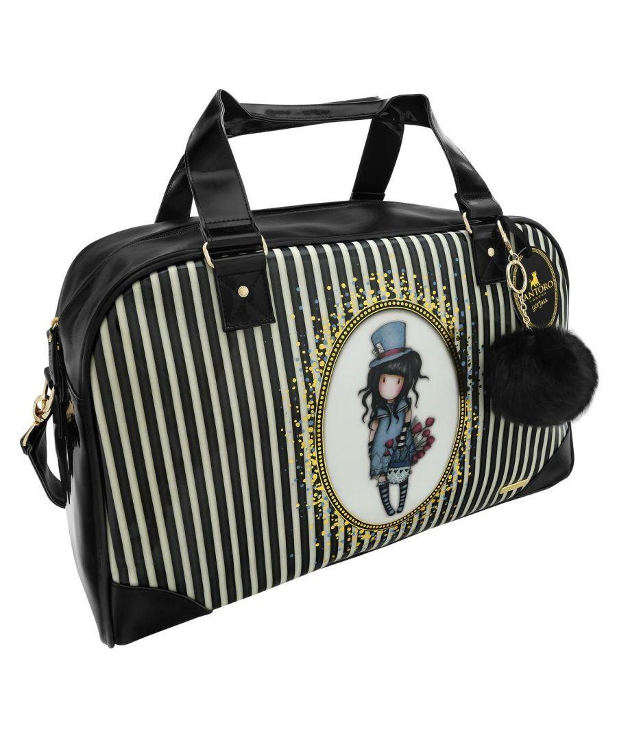 santoro black cosmetic bag gorjuss scarf
