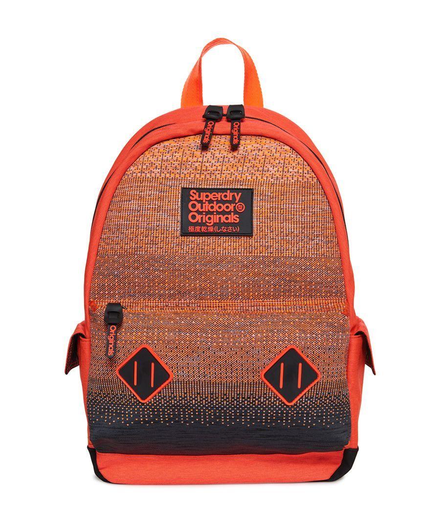 Superdry Knitter Montana Rucksack  - Orange - Size: One Size