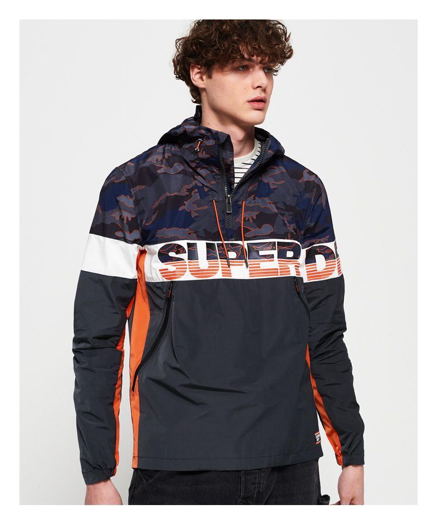 Superdry Ryley Overhead Jacket  - Grey - Size: Large