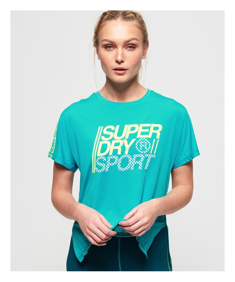 Superdry Core Loose T-Shirt  - Blue - Size: 10
