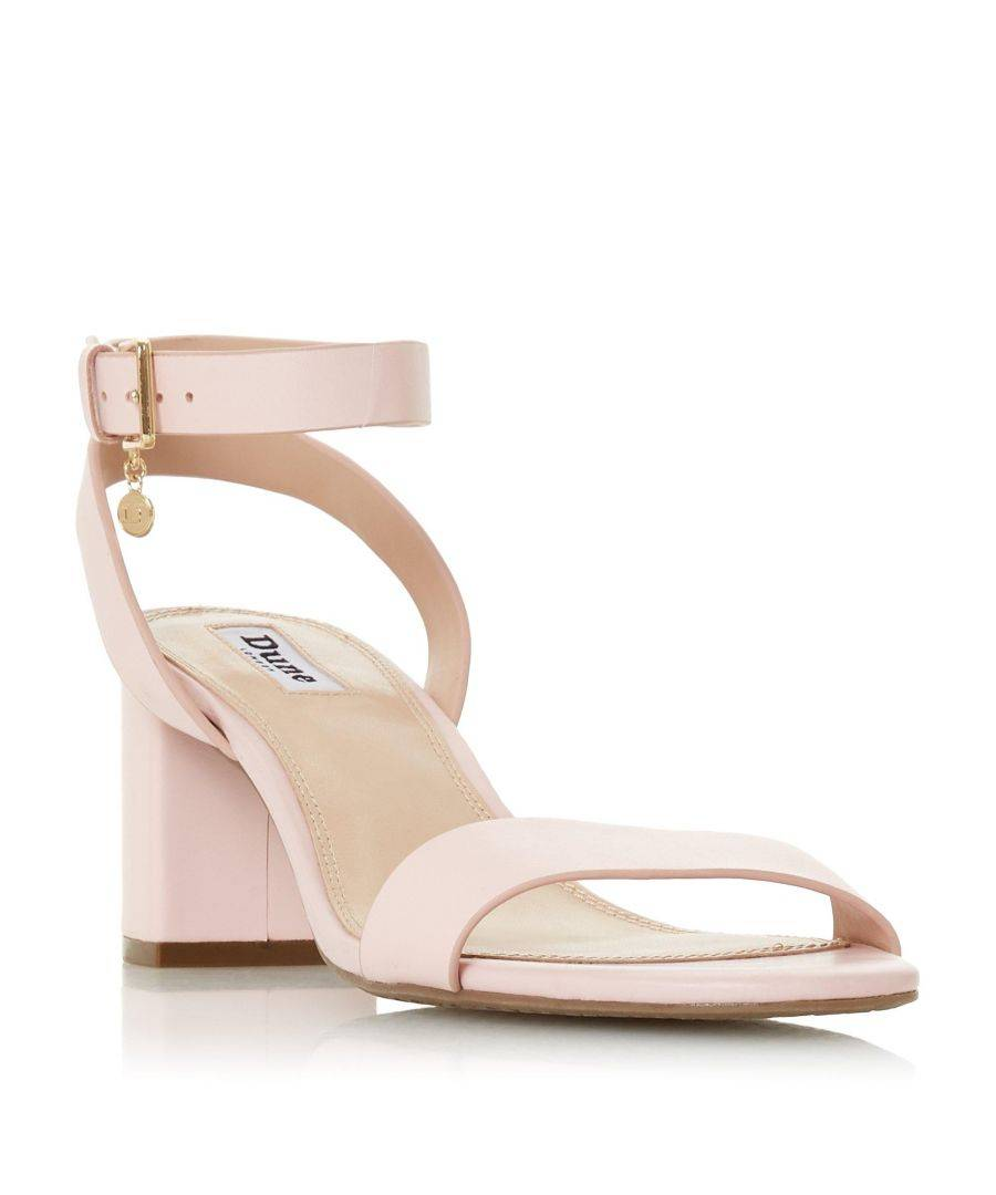 reserved block heel sandals pink