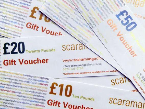 Scaramanga £75 Scaramanga Gift Voucher
