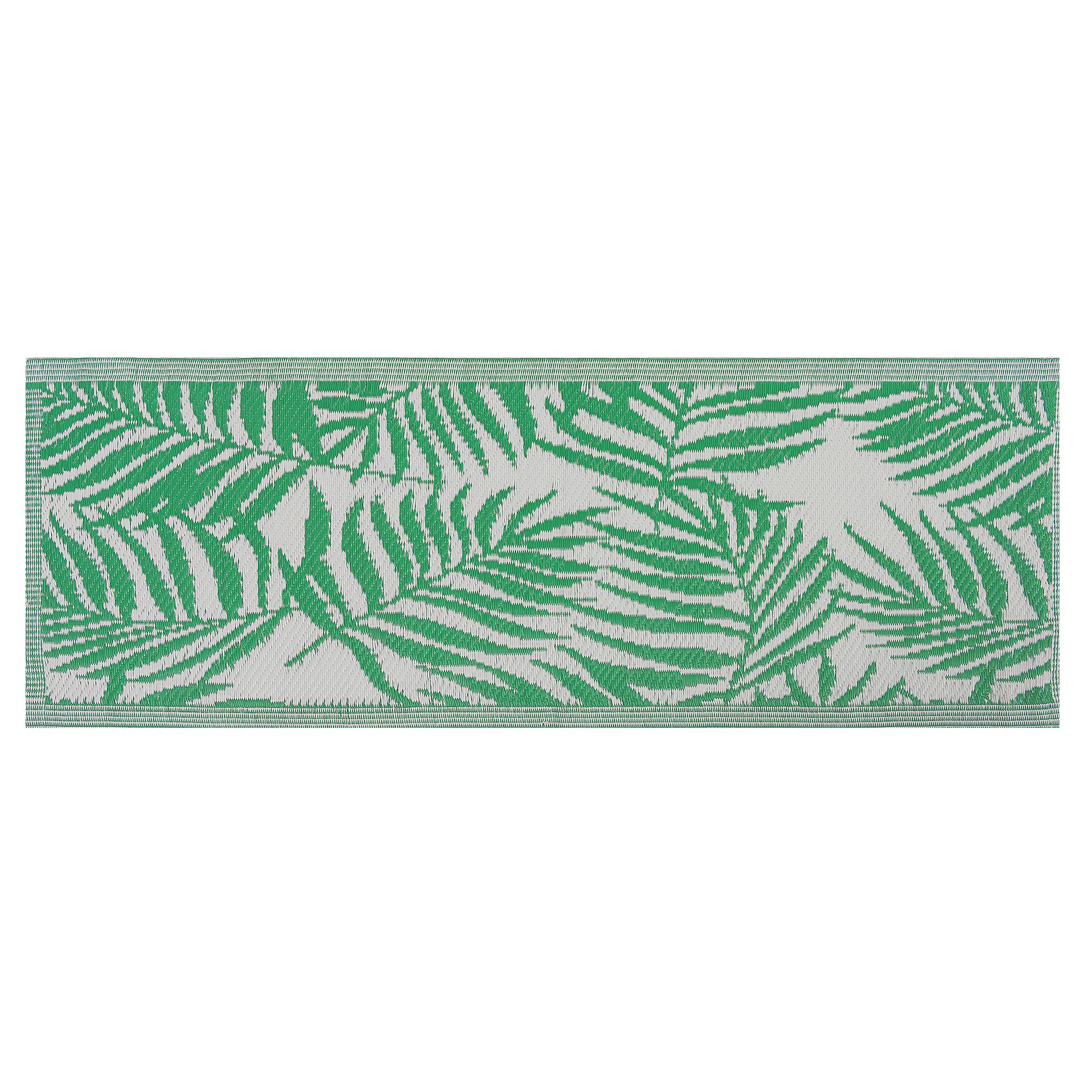 Beliani Outdoor Area Rug 60 x 105 cm Green KOTA