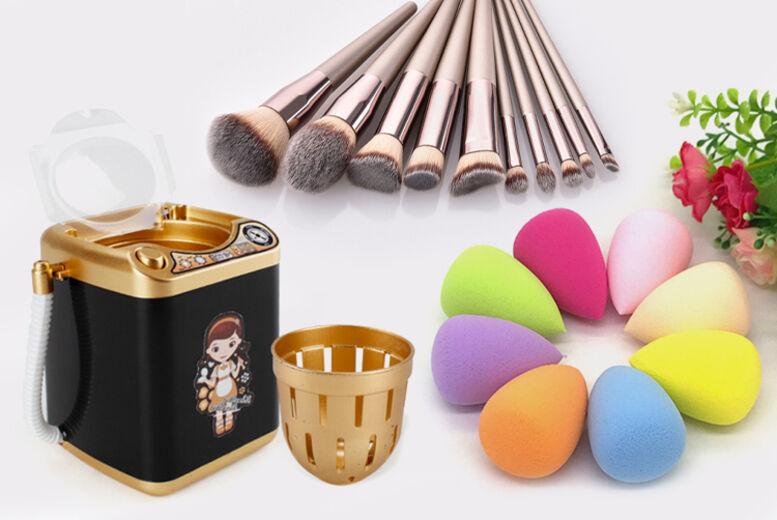 Shanghai Zhengxiang QicheZuling Makeup Brush Cleaner, Brushes & Sponges – 2 Colours!