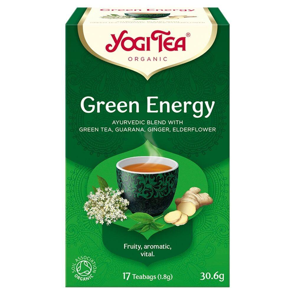 Yogi Tea Yogi-Tea-Organic-Green-Energy-17-Teabags