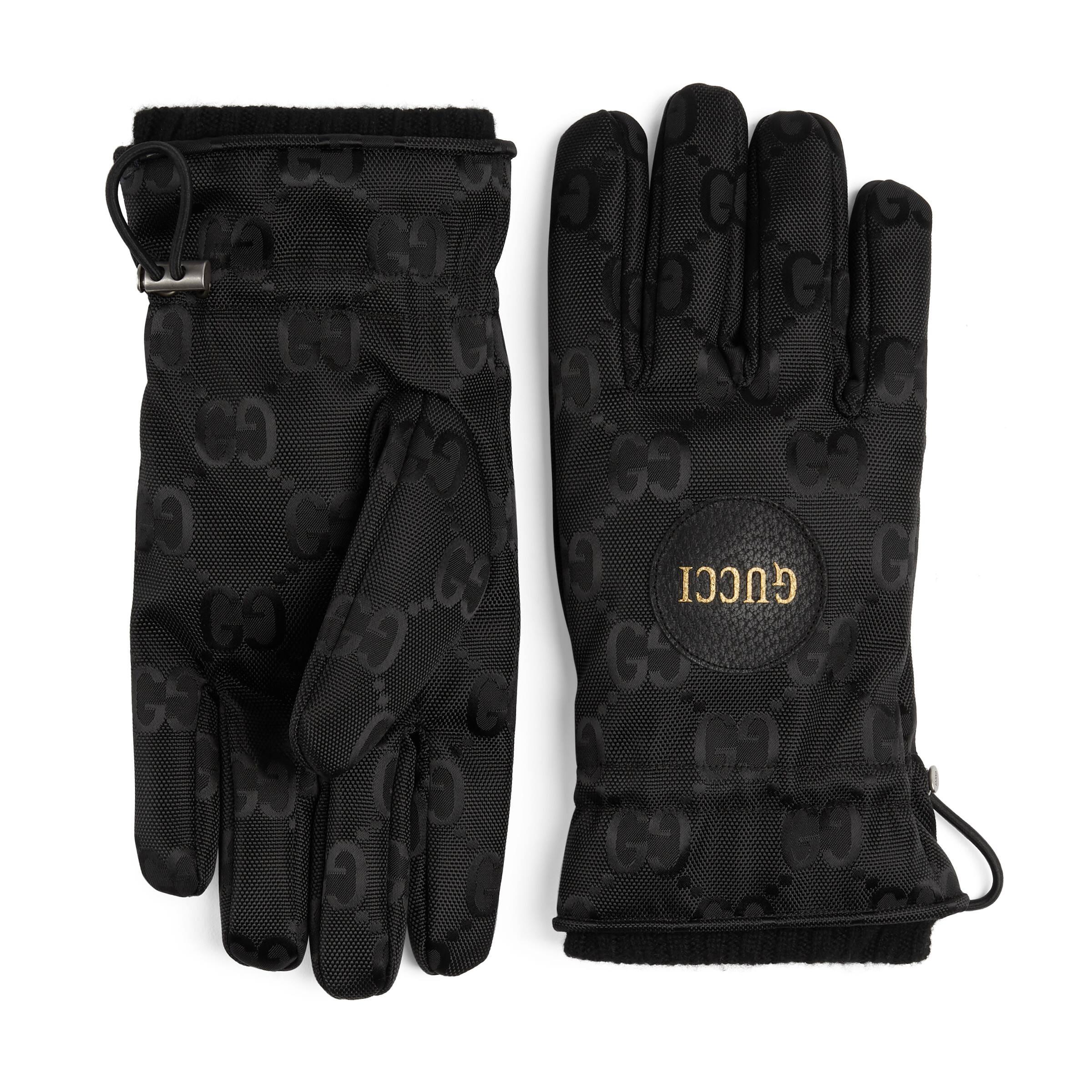 Gucci Off The Grid ski gloves  - Black
