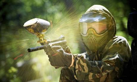 Outdoor Pursuits Day of Paintball with 100 Balls for Six or 12 at Outdoor Pursuits