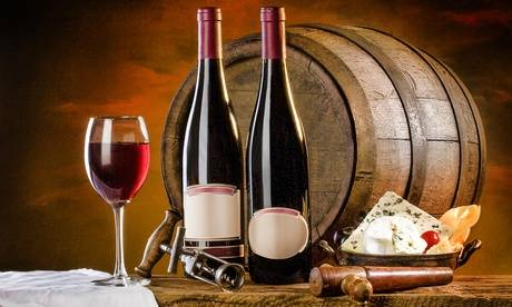 Dionysius Shop Italian Wine Tasting with Cheese or Old Vintage Wine Tasting for Two or Four at Dionysius Shop