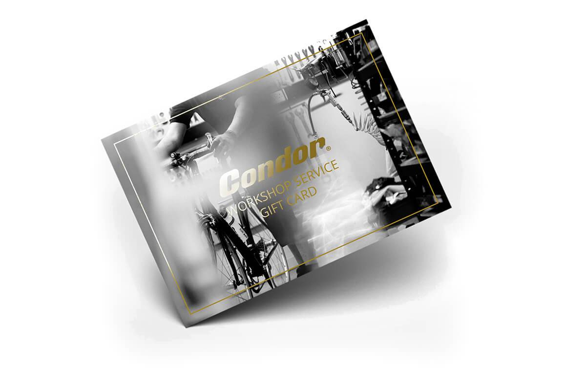 Condor Workshop Service Gift Card  - Size: FULL SERVICE
