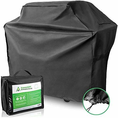 CoverUp! bbq cover 145 x 61 x 115 cm - Premium barbecue cover made of tear-resistant 600D Oxford polyester material - grill cover - Like New