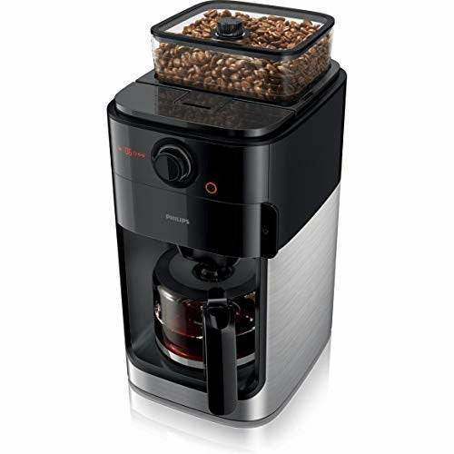 Philips HD7767 / 00 Grind and Brew Filter coffee machine, plastic, stainless steel / black - Very Good