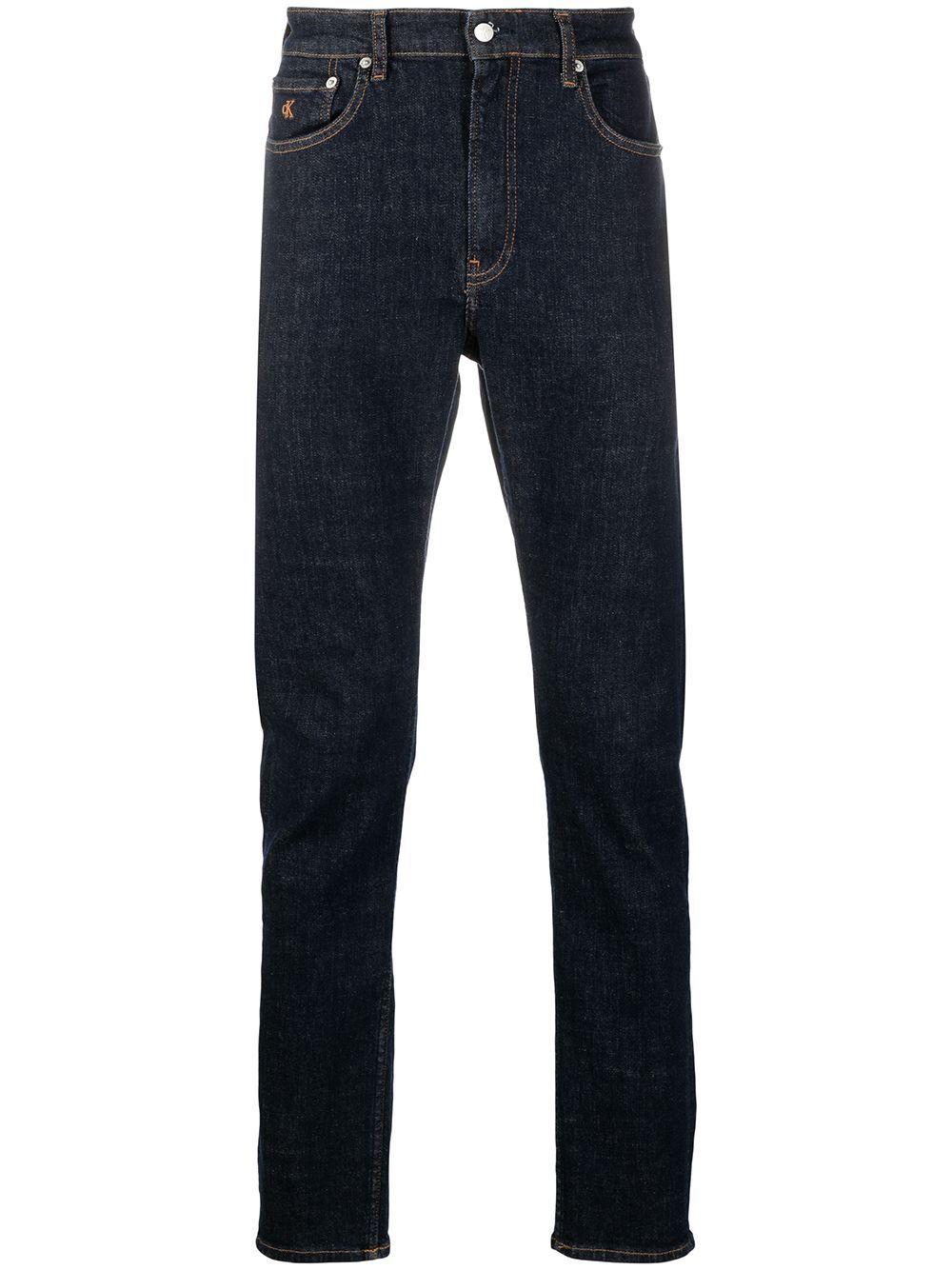 Calvin Klein Jeans slim fit jeans - Blue -Male