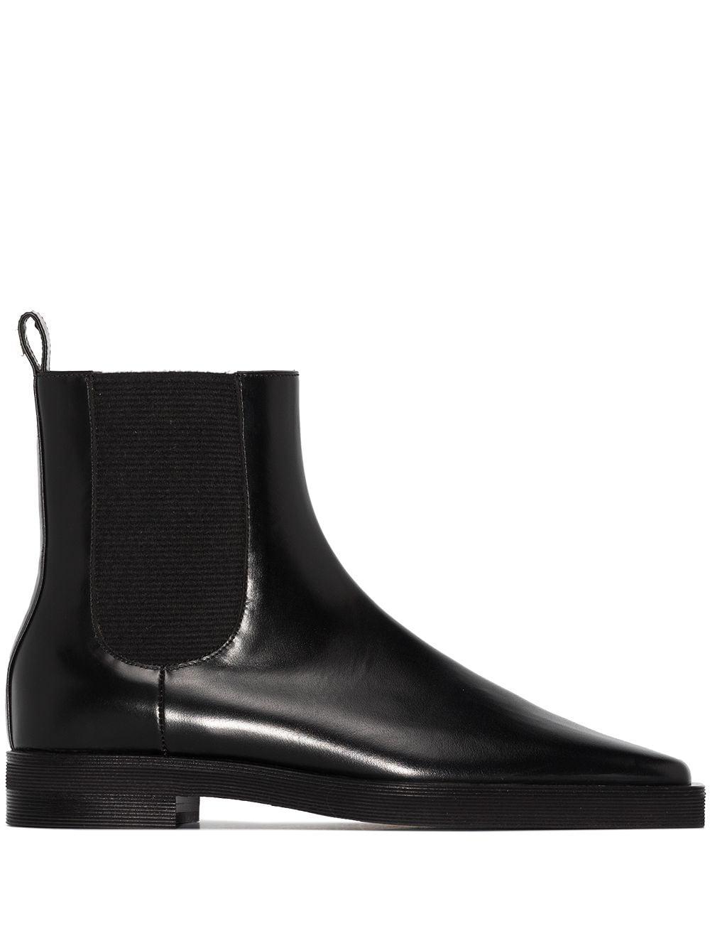 Totême square-toe Chelsea boots - Black -Female