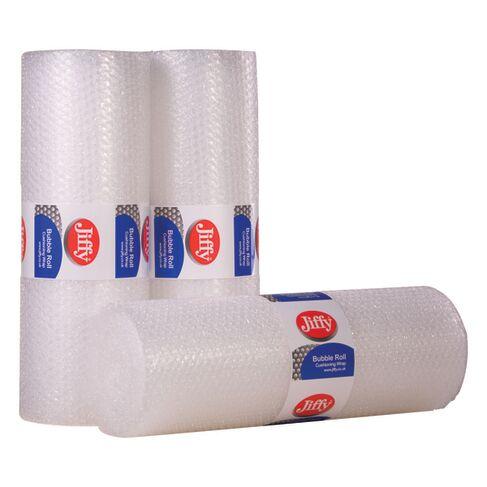 Jiffy Bubble Film Roll 500mmx10m Clear BROC37737