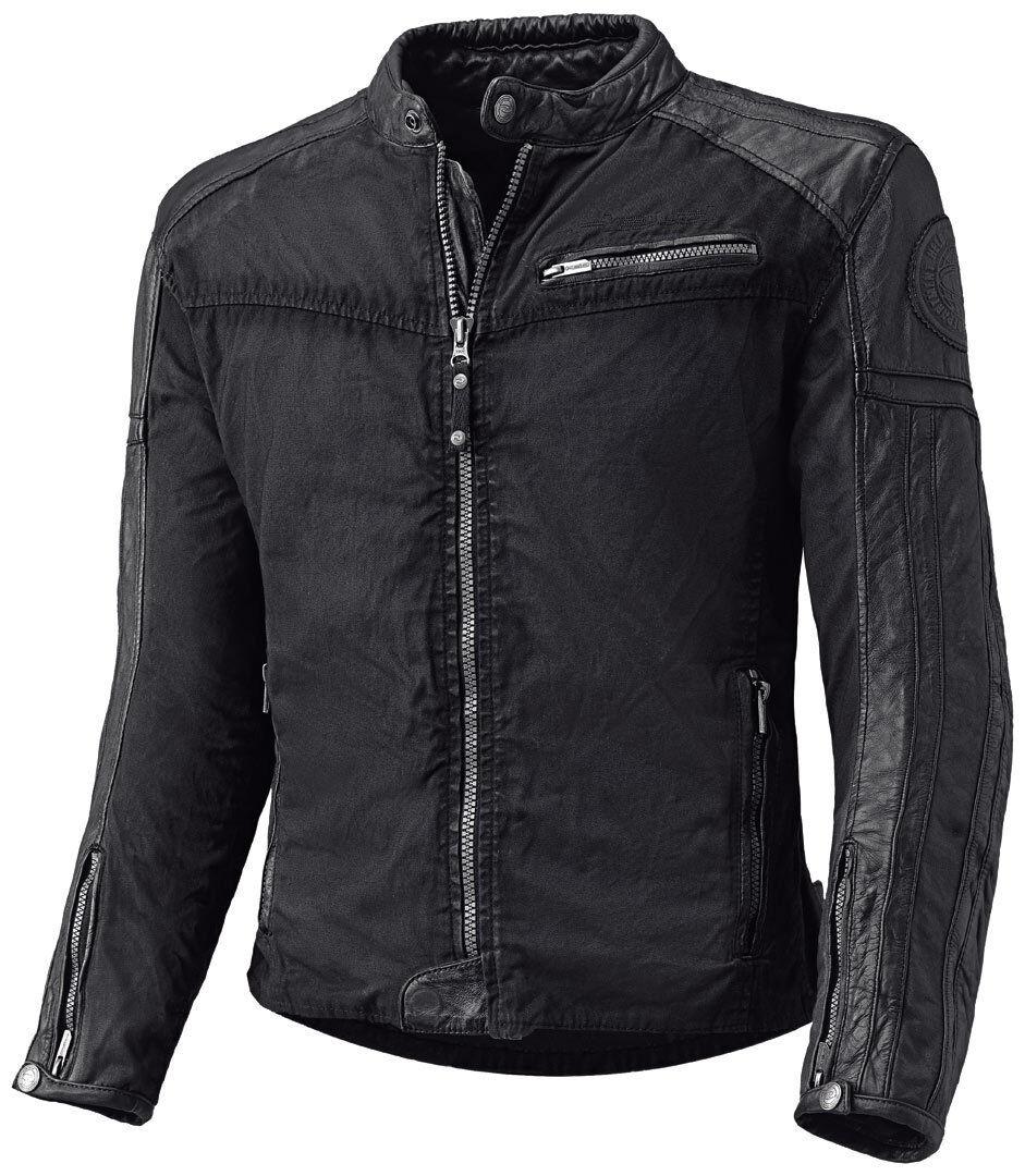held street hawk leather textile jacket black 3xl