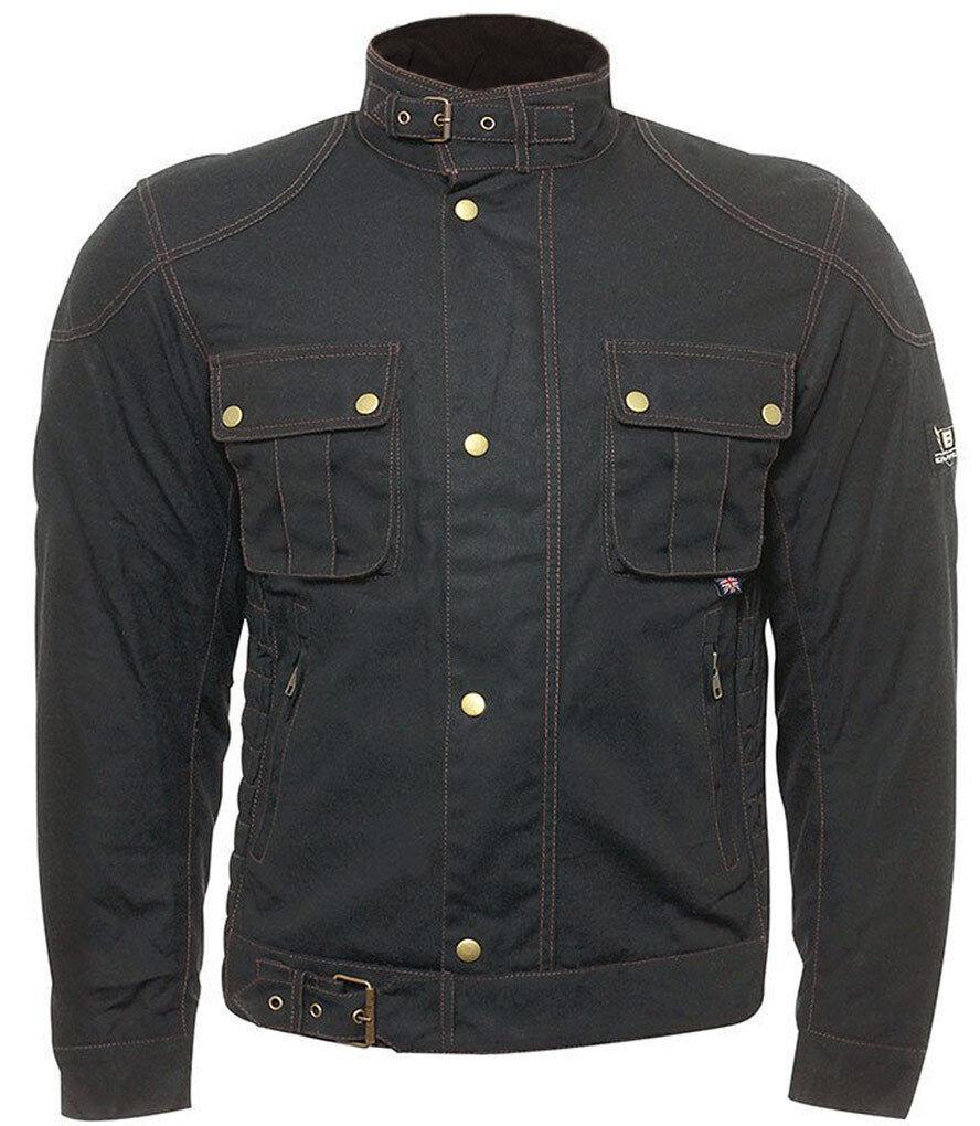 Bores Carlo Wax Jacket Black L