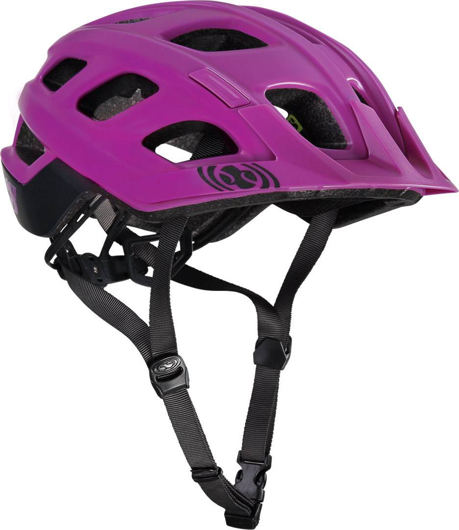 ixs trail xc mtb helmet purple s m