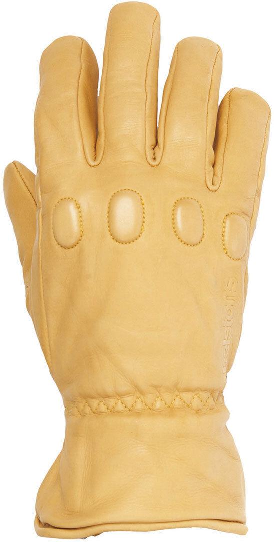helstons wayne winter motorcycle gloves gold xl