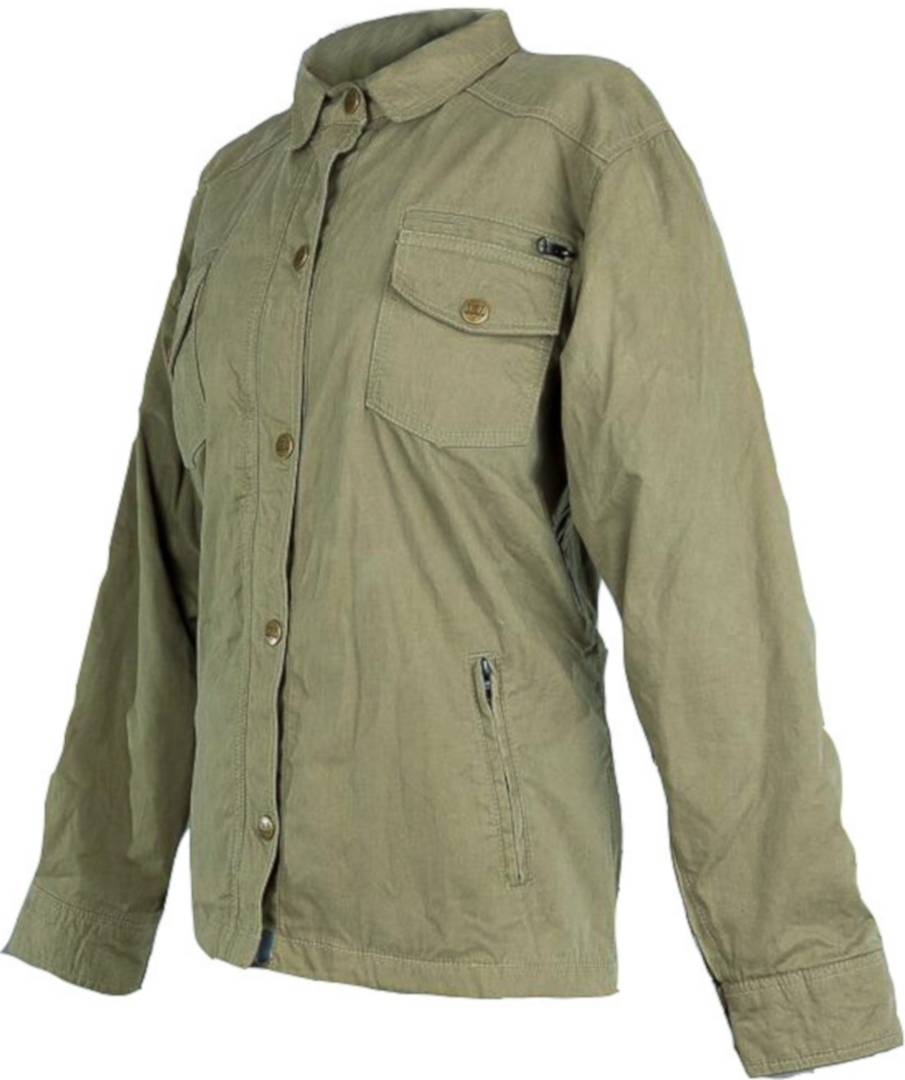 bores b 69 military olive ladies motorcycle textile