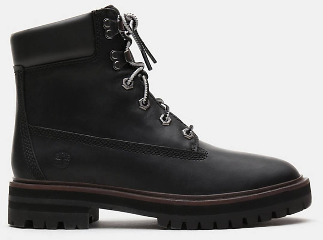 timberland london square 6 inch ladies boots black