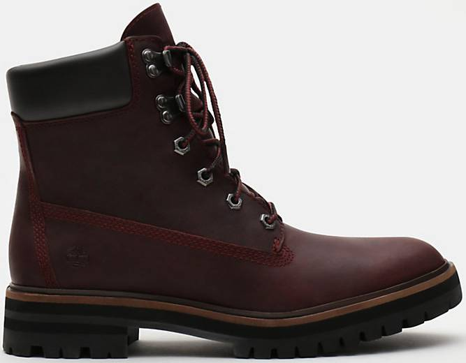 timberland london square 6 inch ladies boots red