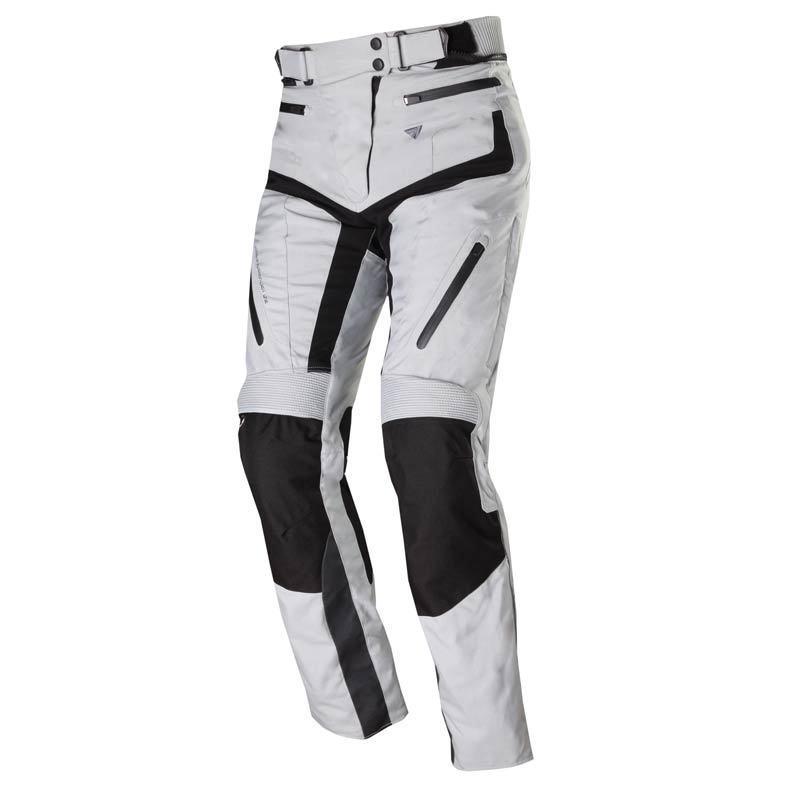 modeka kim ladies textil pants black grey 36