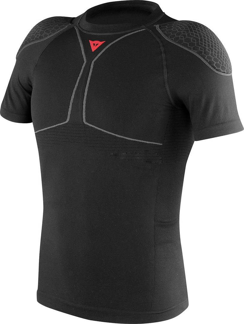dainese trailknit pro armor protector shirt black m