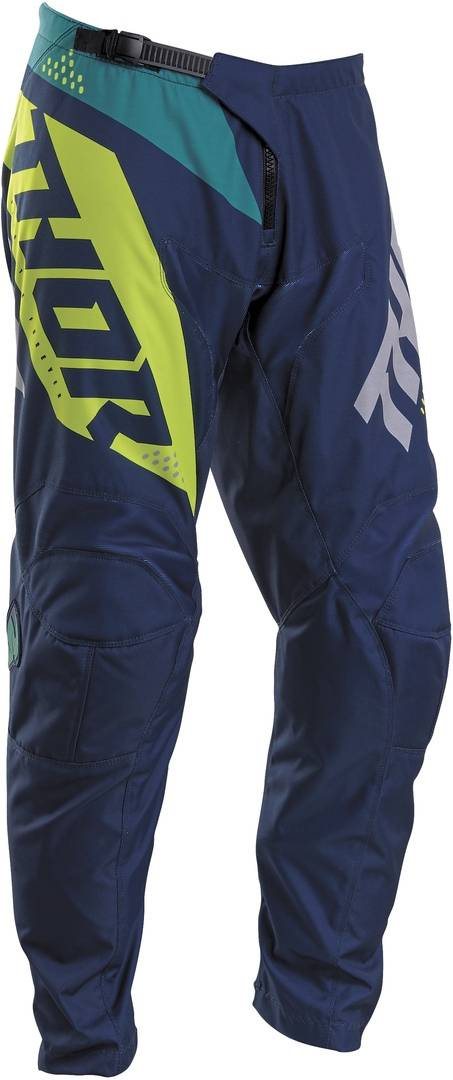 thor sector blade youth motocross jersey blue yellow