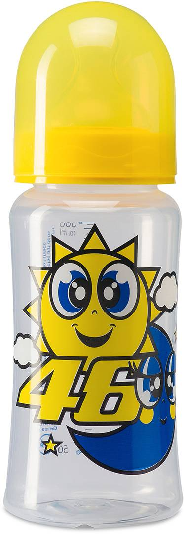 VR46 Sun and Moon Baby Bottle Yellow