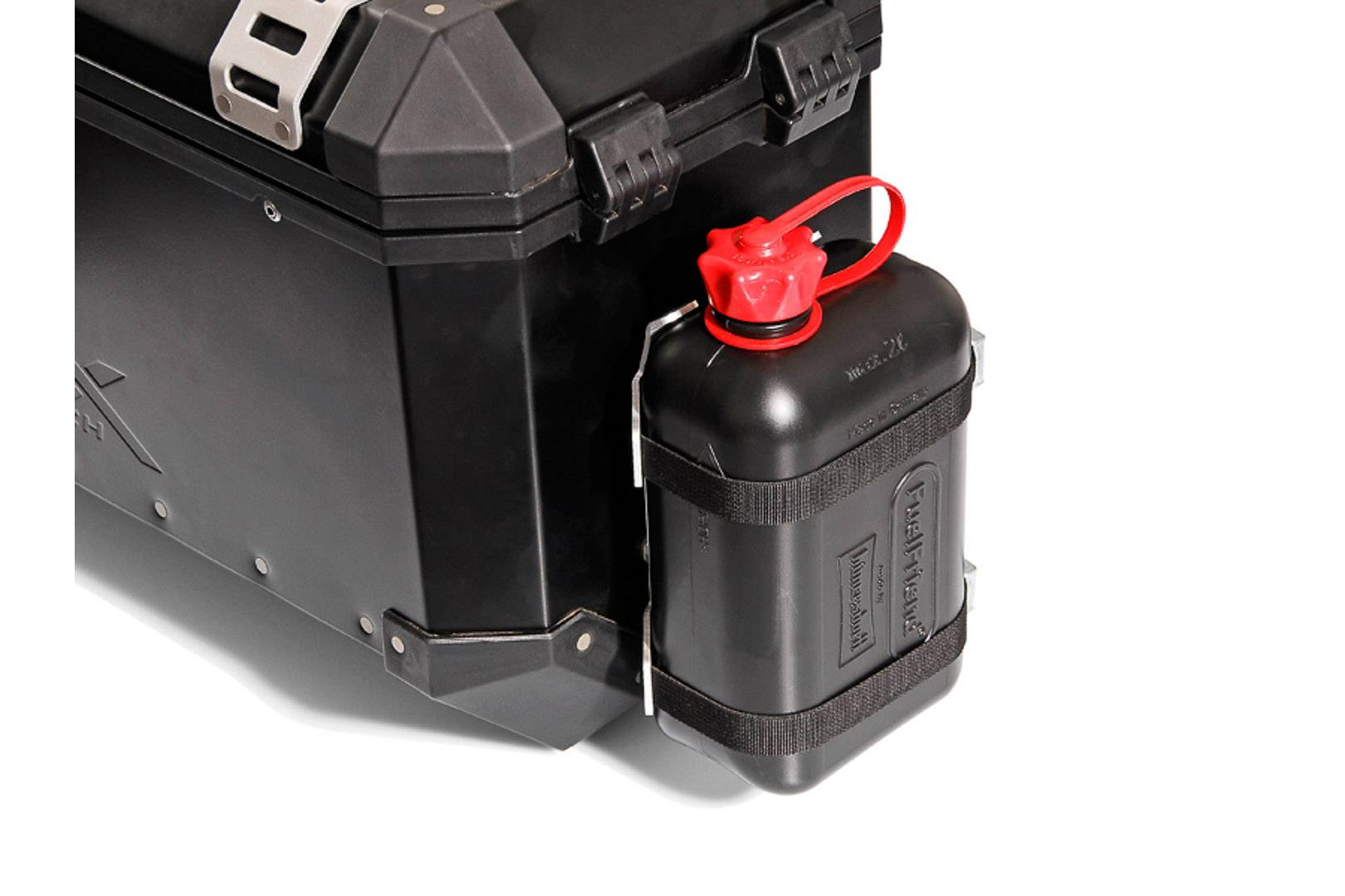 SW-Motech TRAX canister kit - For TRAX accessory mount. Incl. 2 l canister. canister kit for TRAX accessory mount Incl. 2 L canister