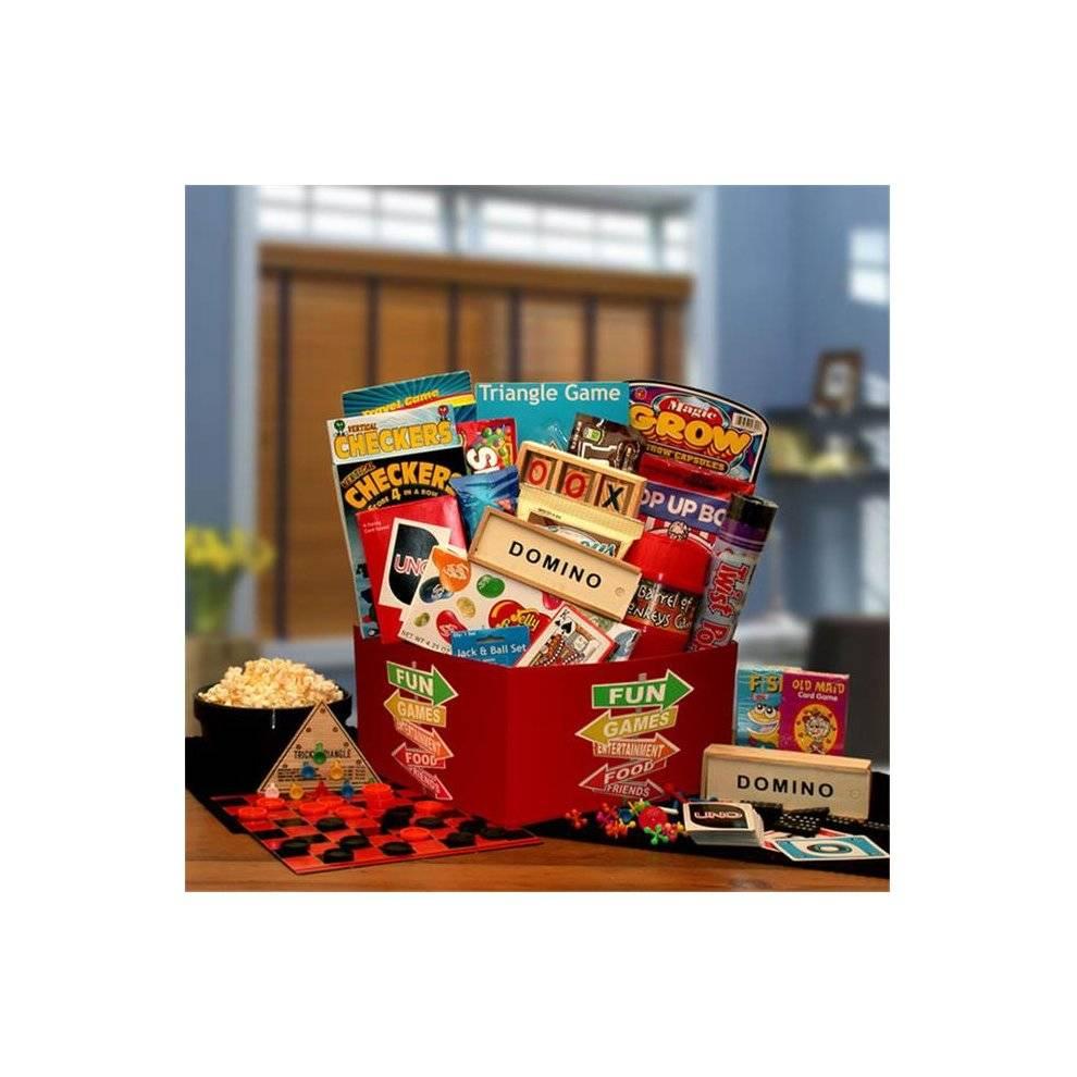 Gift Basket Drop Shipping 890402 More Fun & Games Gift Box