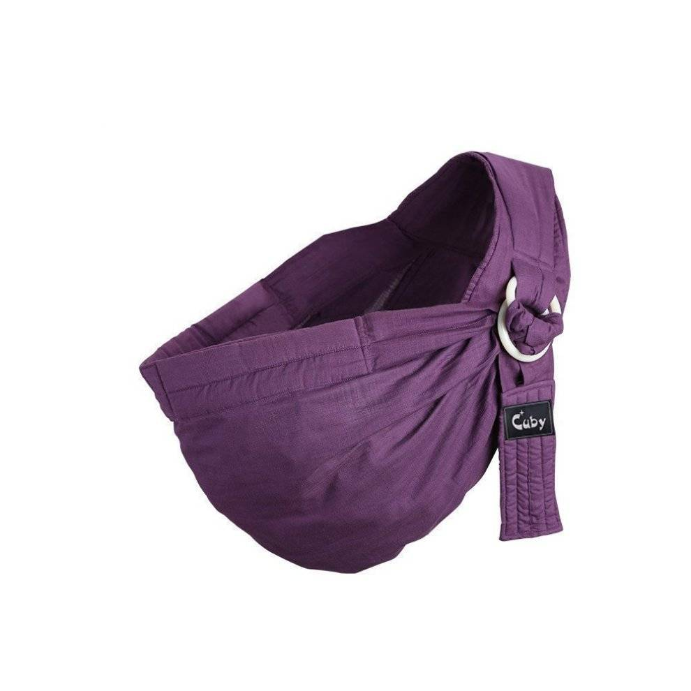 CUBY Kangaroobaby Baby Sling Wrap Carrier One Size Fits All Adjustable for Newborn to