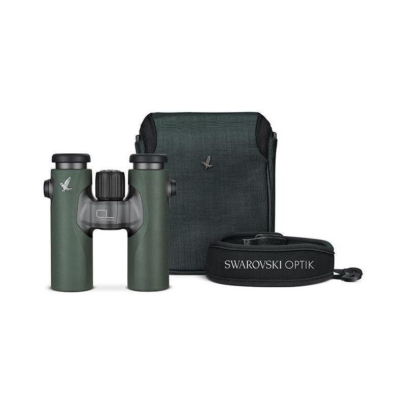 Swarovski CL 10x30 COMPANION binoculars, green, plus WILD NATURE accessory package