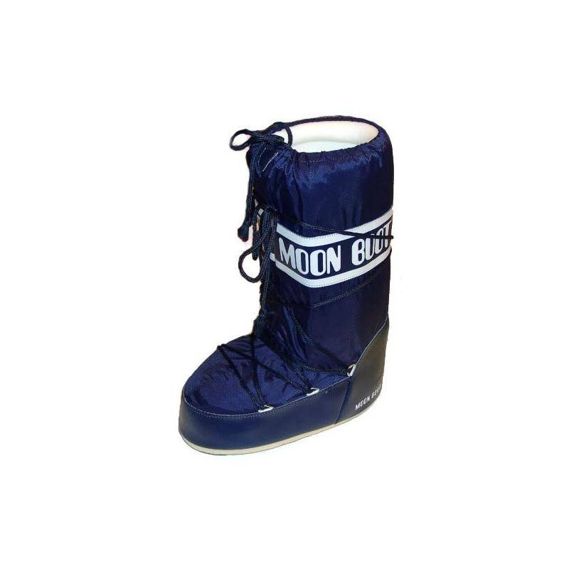 moon boot womens blue boots