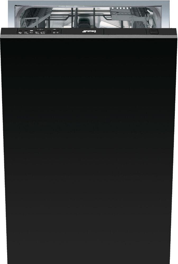Smeg DIC410 Built In Fully Int. Slimline Dishwasher - Black