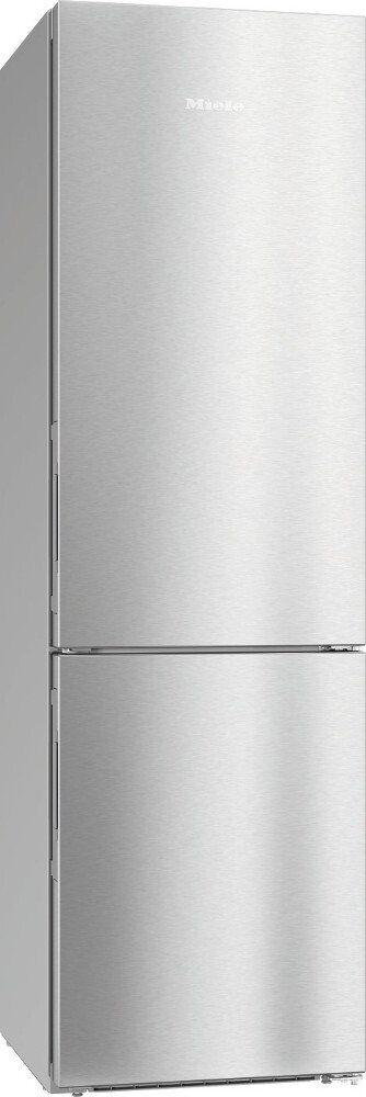 Miele KFN 29493 DE Frost Free Fridge Freezer - Stainless Steel