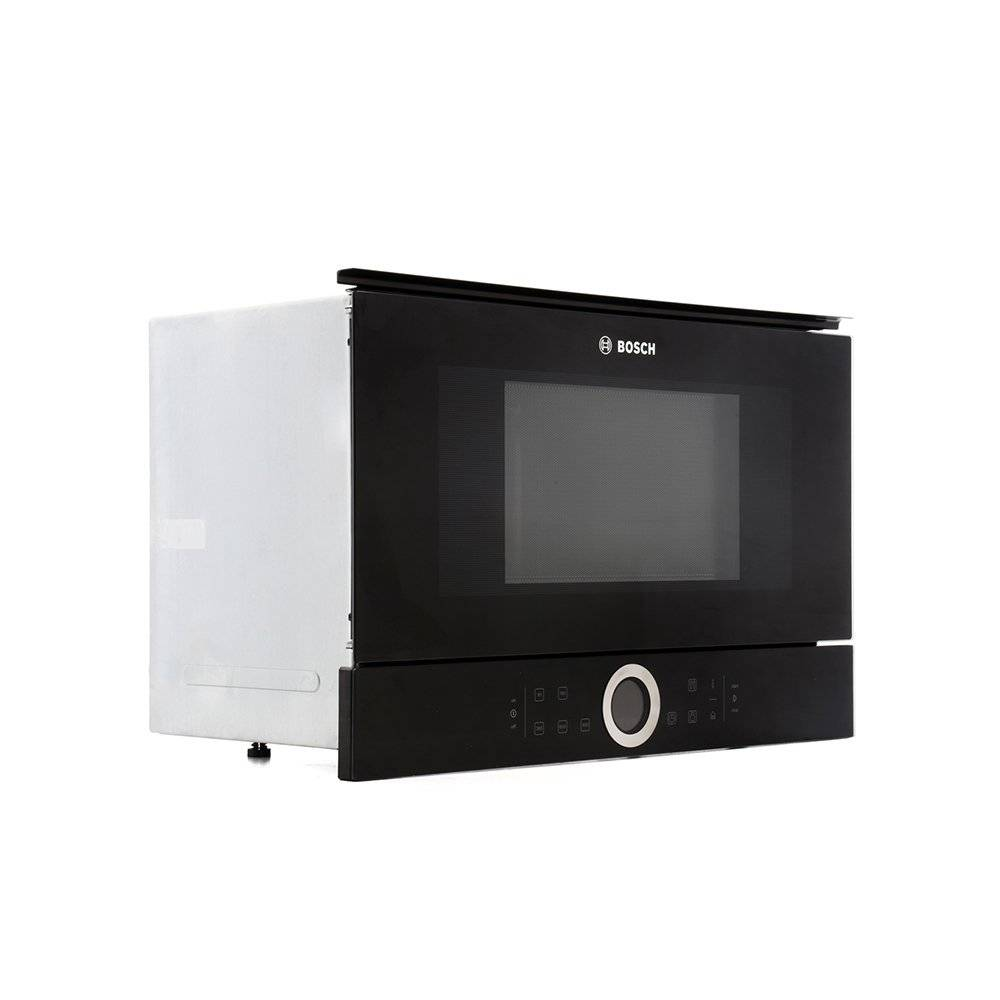 bosch serie 8 bfl634gb1b built microwave black