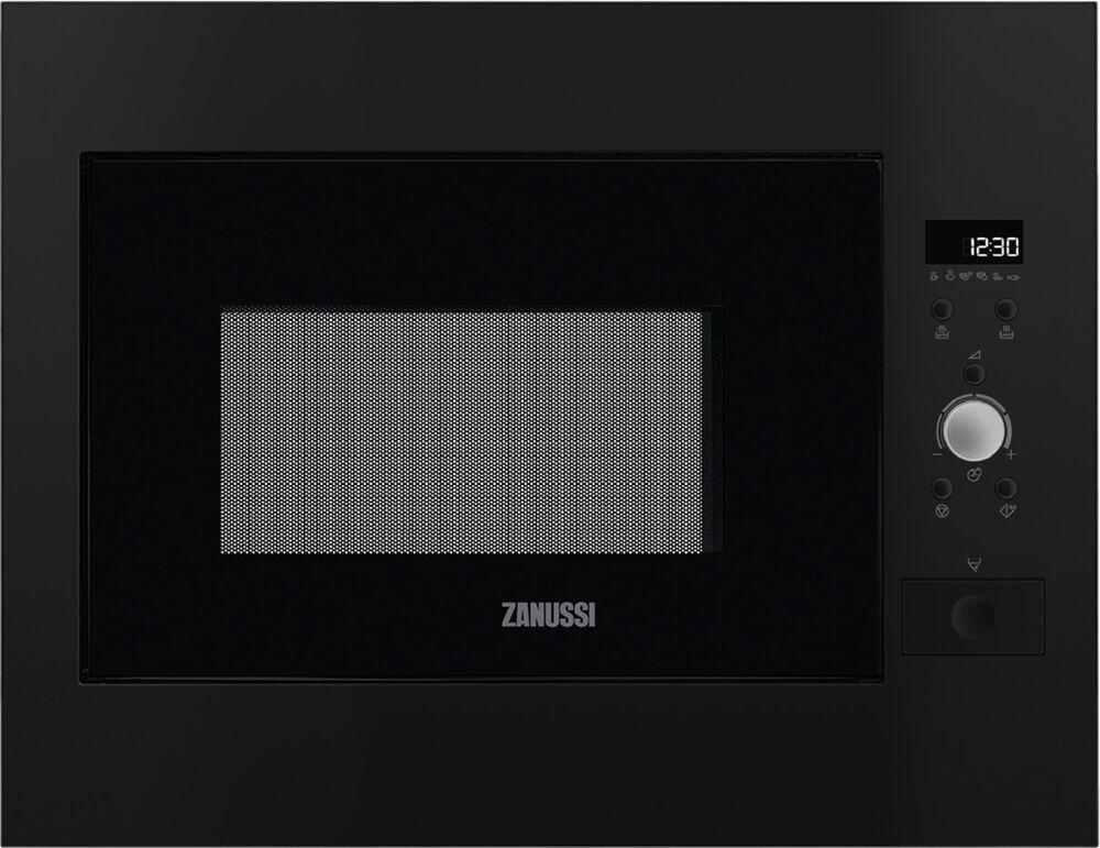 zanussi zbm26642ba built microwave black