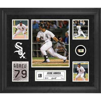 """""""""""""""Fanatics Authentic"""""""""""" """"""""""""Jose Abreu Chicago White Sox Framed 5-Photograph Collage with Piece of Game-Used Ball"""""""""""""""