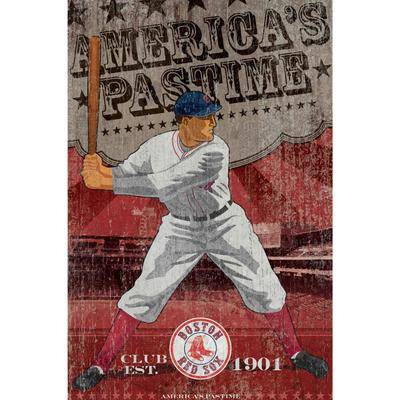 """Imperial """"""""""""Boston Red Sox Vintage Wall Art"""""""""""""""
